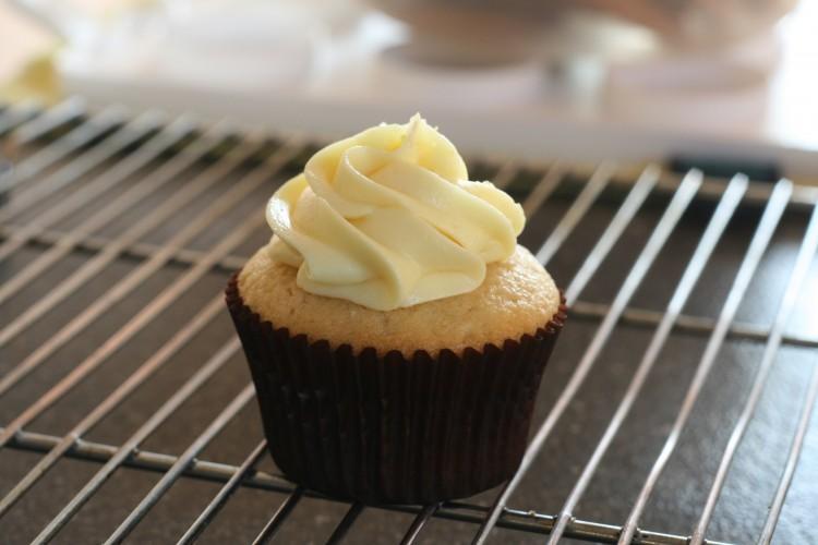 Ginger lemon cupcakes.